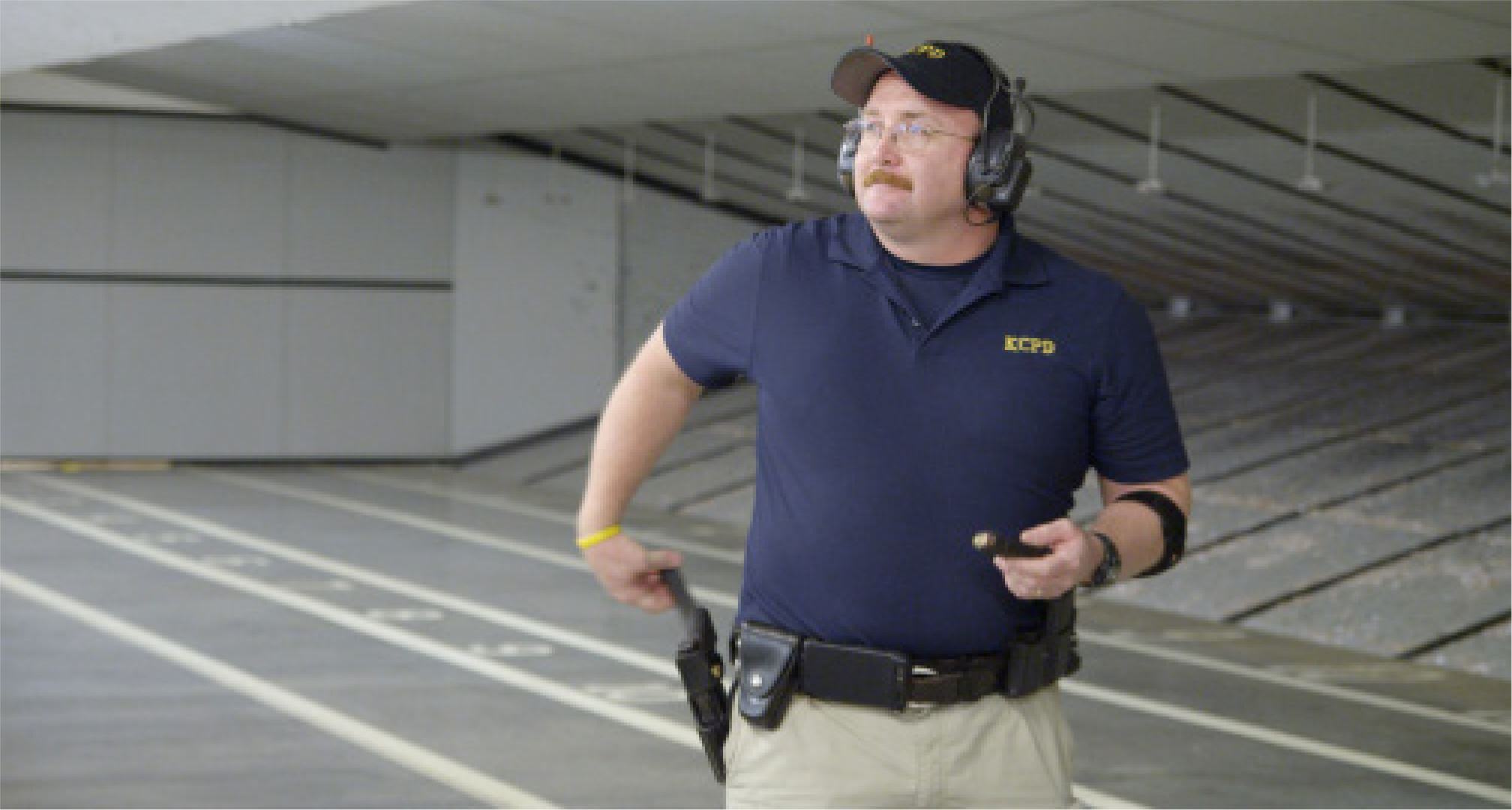 KCPD Firearms Training Supervisor Ward Smith
