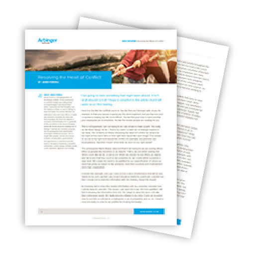 whitepaper resolving the heart of conflict